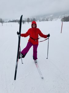 Crazy for Langlauf: RiskyMum Tanja