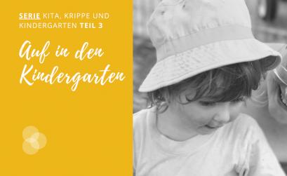 Wechsel von Krippe in den Kindergarten
