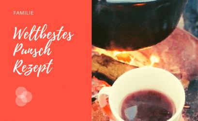 Punsch Rezept auf Feuerschale