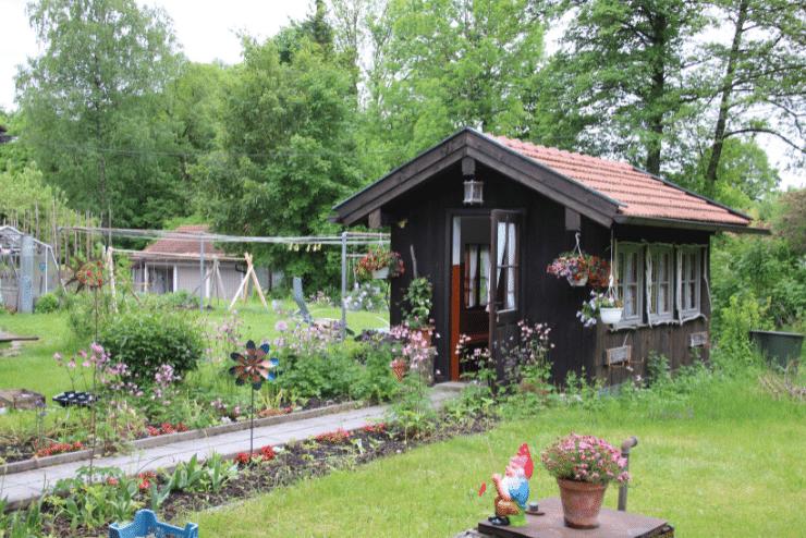 Campingplatz Starnberger See beim Fischer – Schrebergarten